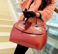 New lady bag rivet PU Leather Smile package female bag shoulder bag brand fashion handbag Women clutch handbag