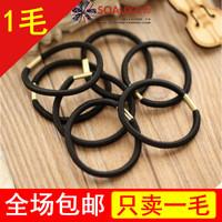 Basic brief metal buckle rubber band headband diy hair accessory handmade hair rope tousheng hair accessory d915