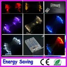 free shipping 5M 50 led battery led string light 3pcs AA Battery Operated Fairy Party Wedding Christmas Flashing LED strip(China (Mainland))