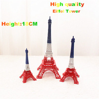 Wholesale 20PCS/lots High quality fashion colorful Eiffel Tower model wedding gifts 18cm -122305