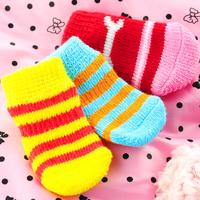 Dog socks teddy slip-resistant pet socks cat fashion dog socks vip 4