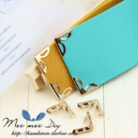 diy accessories books bag corner guard handmade photo album angle iron shirt decoration stud metal