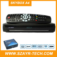 10PC x Skybox A4 HD digital satellite receiver with 2 usb weather forecast Network EPG