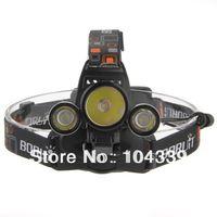 1pcs Free shipping 3000LM CREE XM-L T6 2 R2 LED White Headlamp Lamp Flashlight 4 Mode Camping