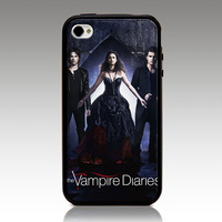 The Vampire Diaries  hard case TPU mix PC Phone cover for iphone 5/5s