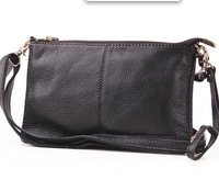 Fashion Designer Genuine Leather Envelope bag day Clutch  Handbag Women messenger bag SD558