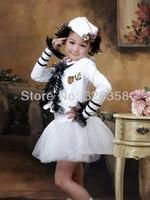 Kids Cosplay Costume Little Navy Isabel Colonel Children Girls Stage Performance Clothing Little Sailor Garment