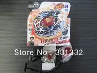 1pcs Beyblade Metal Fusion 4D set New Zero G BBG24B Gryph Girago WA130HF, Super Speed Spin Top Children kids toys