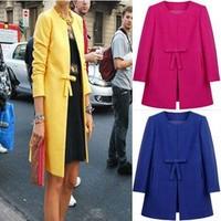 new 2014 winter jacket women Autumn Winter Women Fashion Faux Coat women's winter jacket Outerwear For Women JOY117