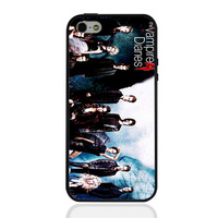 The Vampire Diaries poster hard case TPU mix PC Phone cover for iphone 5/5s