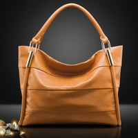 Genuine leather women's handbag 2013 first layer of cowhide women's bag one shoulder new arrival