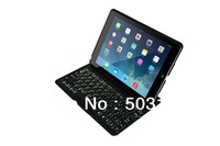 25pcs/lot new Aluminium Backlight Wireless case for iPad Air Bluetooth Keyboard wholesale