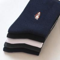 Cattle 0 socks male summer paragraph commercial men's socks 100% cotton socks