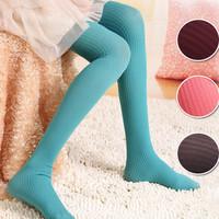 Hot-selling hot-selling thin coarse vertical stripe pantyhose socks multicolour chromophous k11