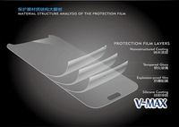 Free shipping For iphone5 Tempered glass film Real Premium Tempered Glass Screen Protector Protective