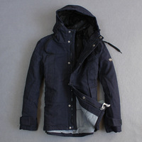 Top Brand Scotch And Soda 2013 Winter With A Hood Thermal Male Thickening Wadded Jacket Cotton-padded Jacket Male Winter Dress
