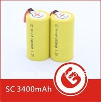 High Quality New Wholesale Ni-cd Sub c 1.2v Battery SubC 3400mAh Tab 1000Pcs