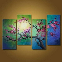 pop Wholesale Picture Decoration HAND PAINTED Modern Abstract wall Art Classical Home decor Gifts Canvas oil painting Cheap 11