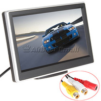Free Shipping! 5 Inch TFT-LCD High-definition Digital Panel Color Car Rear View Monitor