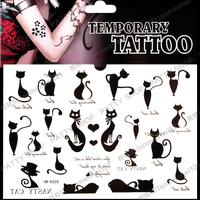 Tattoo stickers waterproof female sexy pussy small tattoo k26  temporary body art