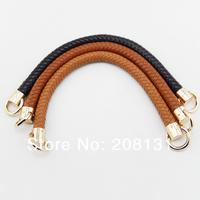 Free shipping10pcs=5pairs/lot DIY bag PU handle. High quality Handbag handle Belt DIY strap Handbag accessories Handle 35*1.8cm