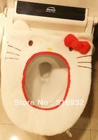 P2 Plush hello kitty toilet cover for toilet seat seat heating mat Free shipping