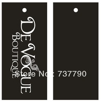 9x4cm custom printed logo clothes paper price gift hang tag/swing tag/hangtag