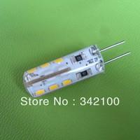 x10pcs Discount Ship 110LM 2W G4 220V LED  Lamp 24 X3014 SMD lamp Bulb