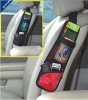 Hot!Brand New Car Multi Function Seat Side Pocket Storage Organiser Bag Car Store Bag Seat Free/Drop Shipping