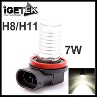 Hot Super Bright 7W 12V 700Lm H8 H11 LED Car Fog Light Vehicle Auto Lamp Bulb White Free Shipping Dropship Wholesale