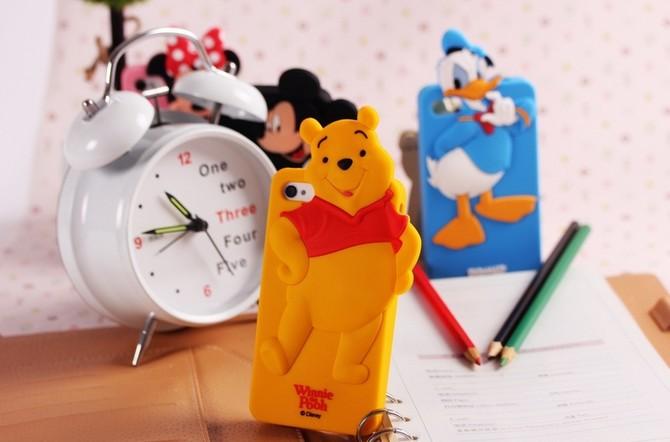3d Cute Mickey Minnie Mouse Donald Duck Font B Winnie B Font Chip View ...