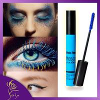 5 Colors Mascara Set Waterproof 2014 Blue Black Green Brown Purple Eye Black for Magic Makeup Long Lasting Party Queen  Mascara