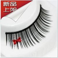 The bride wedding dress style false eyelashes z017 bow