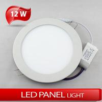 12W Circular panel light LED high brightness ceiling light 2835SMD cold white/warm white AC85~2265V