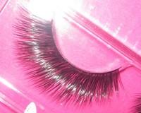 NEW 1 X 0812 mink hair false eyelashes lips lengthen noble rmz021