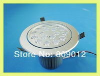 high power LED recessed ceiling spot light lamp 18W LED down light downlight LED ceiling light 18W AC85-265V free shipping
