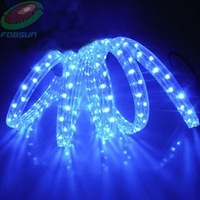 LED flat 3wires rope lights 220V 20M