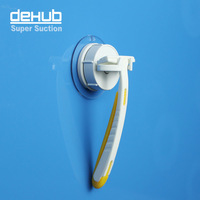Free shipping vacuum suction cup Super sucker razor holder Korea dehub Mini Razor Holder  manual razor rack bracket