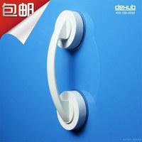 Free shipping vacuum suction cup bathroom rack Sucker glass door handle Korea DeHUB wall cabinet refrigerator door handles