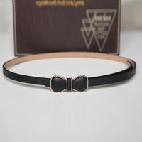 Autumn and winter women's exquisite bow belt all-match fashion decoration high quality cummerbund strap black b208
