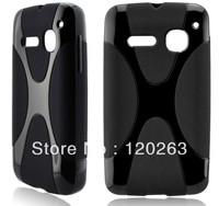 2013 hot selling X TPU case for alcatel 4030d OT4030