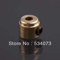 1.6mm 2.1mm 3.1mm round file brass fixed landing gear wheel with remote control model aircraft