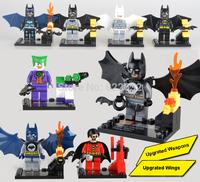 SY Building Block Toy Minifigure Bat Man Construction Sets Educational Bricks Toys for Boys Compatible Blocks