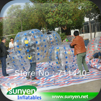 1.5m diameter inflatable crazy loopyballs inflatable crash ball