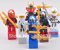 Decool Building Blocks Toy Minifigures Ninja Cole Kai Jay Construction Sets Educational Bricks Toys for Boys Compatible Blocks