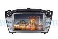 Double Din For  IX35 Hyundai(2011-2012) 7'' Digital Touch Screen Car DVD Player GPS BT FM/AM