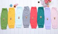 Free Shipping 0/3Years 1Pcs Cute Bear  Baby Girls Boys Pants 100% Cotton Kids/Children Spring Autumn Trousers