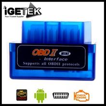 Universal Mini V1.5 ELM327 OBD2 Bluetooth Auto Scanner OBDII 2 carros ELM 327 Tester Ferramenta de diagnóstico para Android do Windows Symbian(China (Mainland))