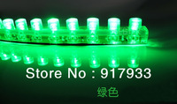1X wholesale price Waterproof flexible Car LED Strip PVC lights 24cm 24 leds Decorate LED Bulb white blue yellow green red RGB
