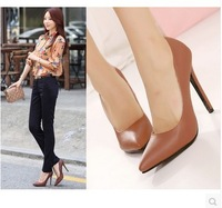 ladies fashion pointed toe high heel shoes women pumps size 35-40 wholesale CX317-A5NF
